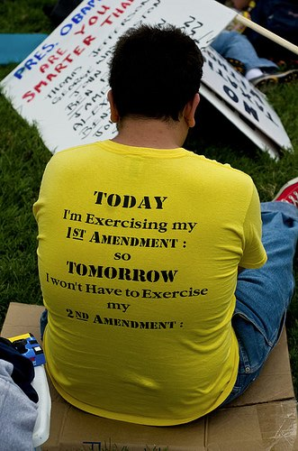 Exercising my 1st Amendment:
