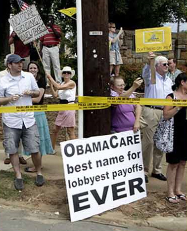 ObamaCare - Best name for lobbyest payoffs ever!