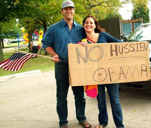 No Hussien Obama
