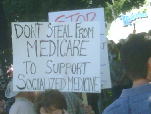 Don't steal from Medicare