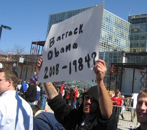 Barrak Obama 2008 - 1984