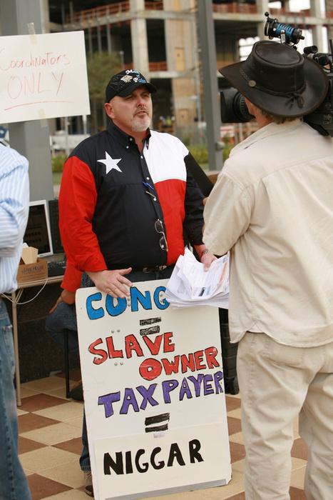 Congress = Slave Owner, Taxpayer = Niggar