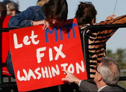 Let Mitt Fix Washinton