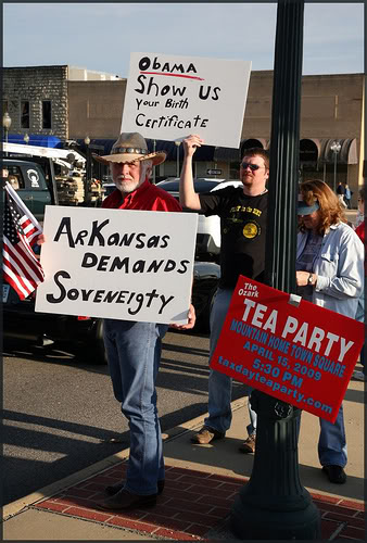 Arkansas Demands Soveneigty